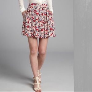 BCBGeneration pleated floral mini skirt 2